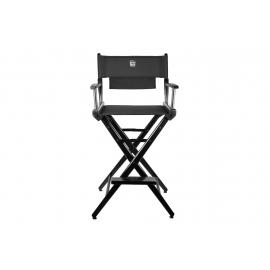 Porta Brace Location Chair | Black Finish, Black Seat | 30-inch