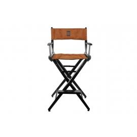 Porta Brace Location Chair | Black Finish, Ultra Suede Seat | 30-inch