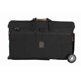 Porta Brace RIG Carrying Case Kit | Customized Interior | Off-Road Wheels | Black | Medium