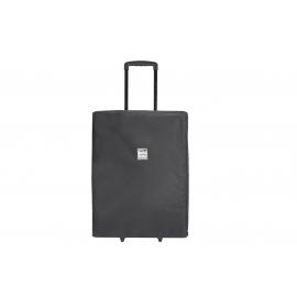 Porta Brace Backpack   Rigid Frame and Dividers   Off-Road Wheels   Black