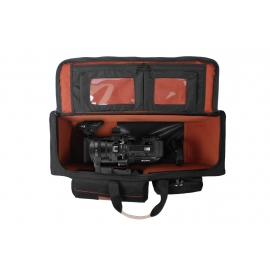 Porta Brace RIG Carrying Case | Viewfinder Protection - Sony PXW-FS7 | Wheeled |Black