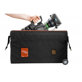 Porta Brace RIG Carrying Case | Off-Road Wheels | Blackmagic URSA | Black
