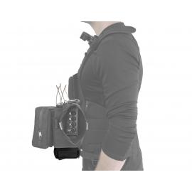 Audio Tactical Vest | Battery Pouch Only | Black