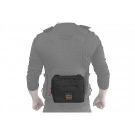 Audio Tactical Vest | Extra Front Pouch Only | Black