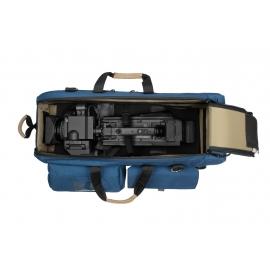 Carry-On Camera Case | Off-Road Wheels |Shoulder Mount Cameras | Blue