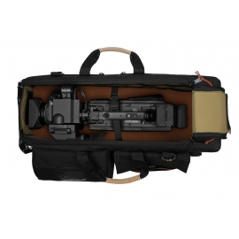Carry-On Camera Case | Off-Road Wheels |Shoulder Mount Cameras | Black
