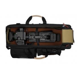 Carry-On Camera Case | Off-Road Wheels |Shoulder Mount Cameras | Black