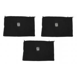 Stuff Sack | Set Of 3 | 10-inches x 15-inches | Black