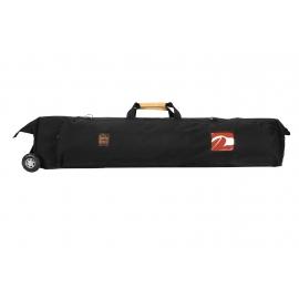 Porta Brace Tripod/Light Carrying Case w/ Off Road Wheels   Black   46-inches
