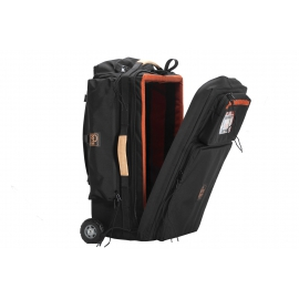 Porta Brace Wheeled DSLR Case | Off-Road Wheels | Rigid Frame| Black