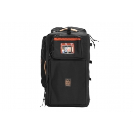 Porta Brace Wheeled Audio Case | Off-Road Wheels | Rigid Frame| Black