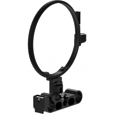 15 mm Lens support including lens strap