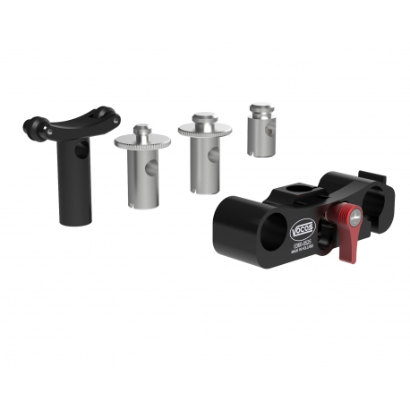 15 mm General lens support including 4 adapters