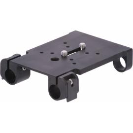 Plaque horizontale 15mm de fixation pour accessoires