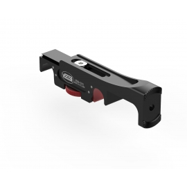 Slidable handgrip 15 mm rail bracket