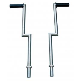 Set of pushbars