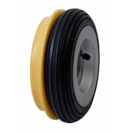 Pneumatic and trackwheels for Arco Dolly