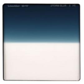 Storm Blue 3  Hard Edge - Vertical - 4 x 4