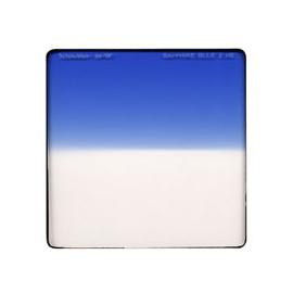 Sapphire Blue 2  Hard Edge - Vertical - 4 x 4