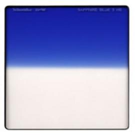 Sapphire Blue 3  Hard Edge - Vertical - 4 x 4