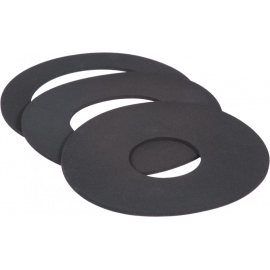 Separate rubber donut set for flexible donut adapter ring MB 215 & MB-255