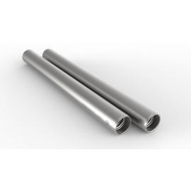 2 Barres 15mm, aluminium longueur 15cm