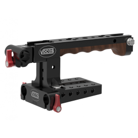 Top handgrip kit for Canon C200 including cheese plate and viewfinder adapter