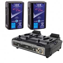 Kit de 2 x CUE-D150, 1 x VL-2000S