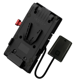 Adaptateur V-lock USB, 3 D-Tap, câble DC Sony FW50