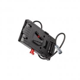 Adaptateur V-lock 3 D-Tap pour BMPCC 4K
