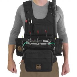 Audio Tactical Vest | Zoom 8 |Black