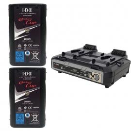 Kit de 2 x Endura CUE-D300, 1 x VL-2000S