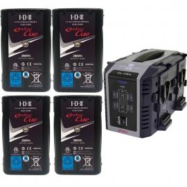 Kit de 4 x Endura CUE-D300, 1 x VL-4SeKit de 2 x Endura CUE-D300, 1 x VL-2000S