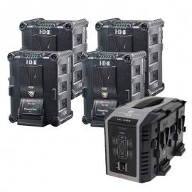 Kit de 4 x IPL-150 , 1 x VL-4Se