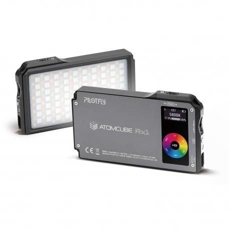 Eclairage portatif RGBCW AtomCUBE RX1