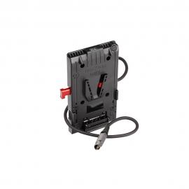 Plaque V-mount d'alimentation pour Z-CAM ZE2
