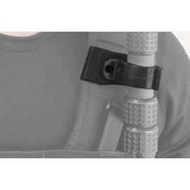 Porta Brace Boom Pole Clip and Attachment Wrap | Black
