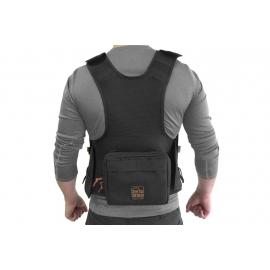 Porta Brace Audio Tactical Vest | Zoom 8 |Black