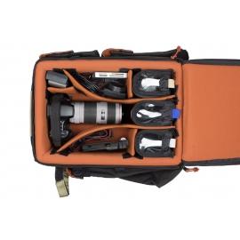 Sac à dos pour appareils DSLR version noire/rouge