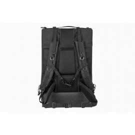 Porta Brace Backpack | Rigid Frame & Divider Kit | Extra Large | Off-Road Wheels | Black
