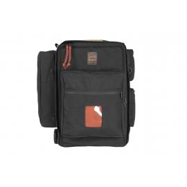 Porta Brace Backpack Camera Case with Wheels | Rigid Frame | Sony PXW-FS5  Black