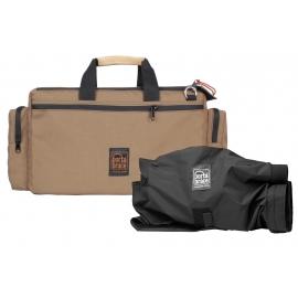 Porta Brace Cargo Case  Quick-Slick Rain Protection Included   Coyote (Tan)   Camera Editon - Medium