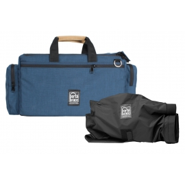 Porta Brace Cargo Case   Quick-Slick Rain Protection Included   Signature Blue   Camera Edition - Medium