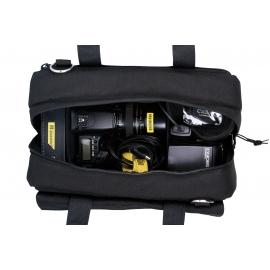 Sac de transport version noire/rouge pour caméra DSLR