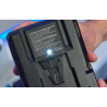 Batterie V-Mount Li-ion 96Wh 2 sorties D-tap&USB