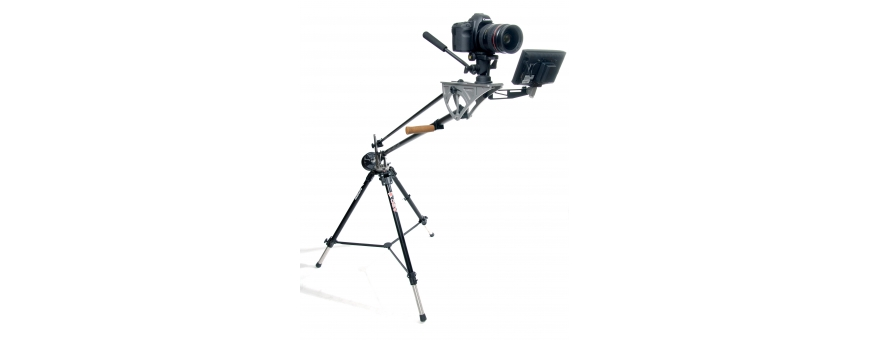 Central Video -  Jib avec charge admissible jusque 2,5 kg -  DSLR Light Jib