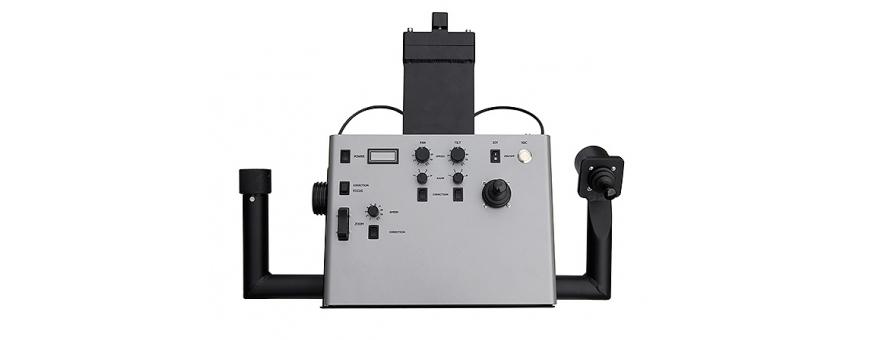 Central Video -  Accessoires pour têtes motorisées -  Porte-batterie pour 1 batterie à monte V  Alimentation 24V  Câble de comm