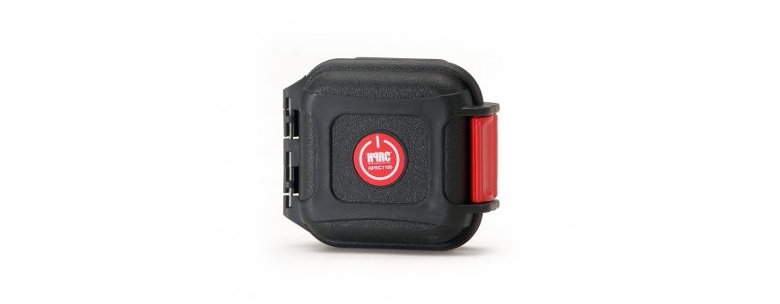 Central Video -  Mini Protection étanche pour cartes mémoires -  Boite étanche petit modèle vide  Porte-cartes mémoires petit m