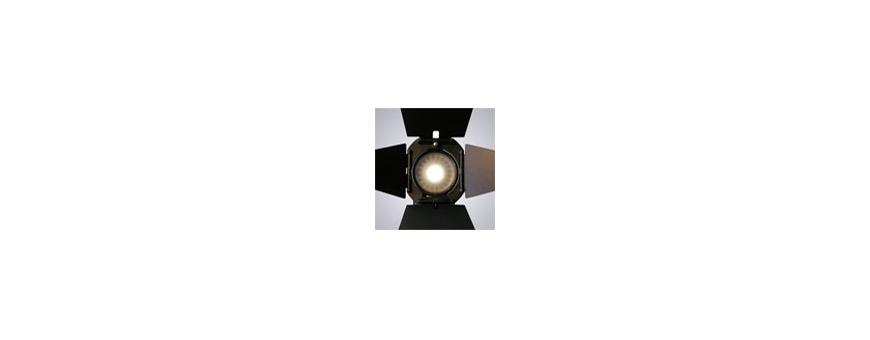 Central Video -  Eclairage et Filtres -  TORCHE A LED PICO LED 6W  TORCHE SUN GUN  VERRE DIFFUSEUR POUR SUN GUN