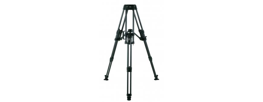 Central Video -  Gamme HD (jusqu'à 95 kg) -  Trépied HD Carbone, 2 étages, Bol de 100 mm, jusqu'à 95 kg  Trépied HD Alu, 1 étag